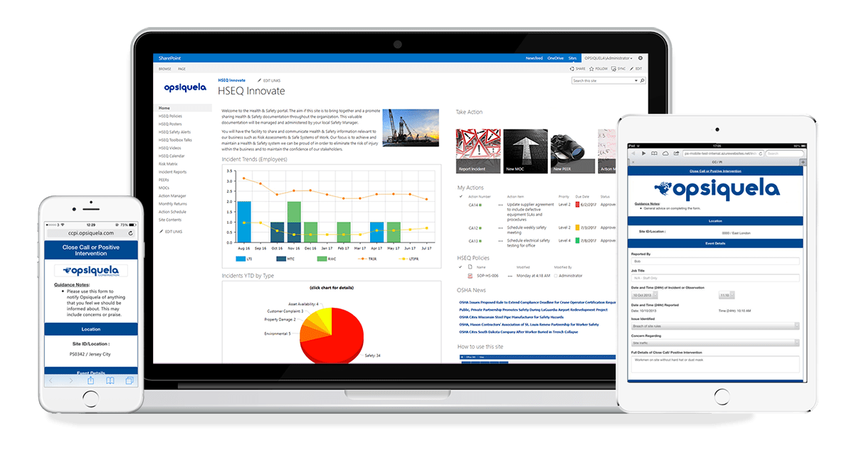 Access Pro-Sapien's Incident Management System through SharePoint