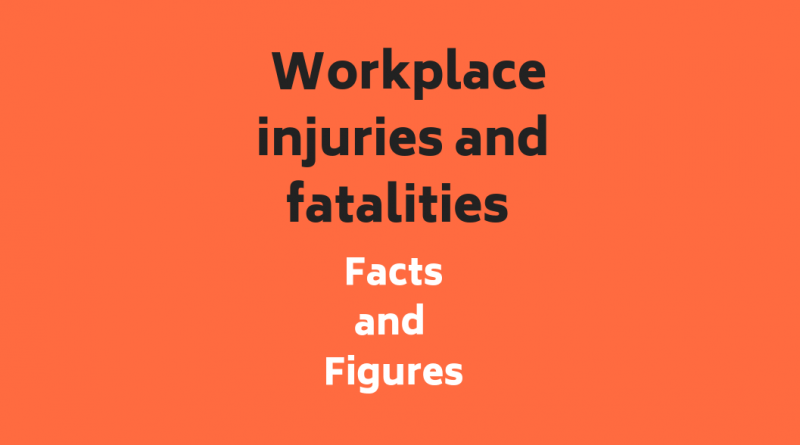 Infographic: Workplace Injuries and Fatalities Facts and Figures