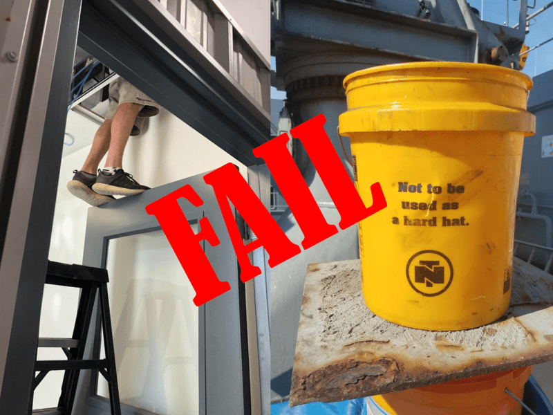 Top 11 OSHA Fails From the Reddit Safety Community
