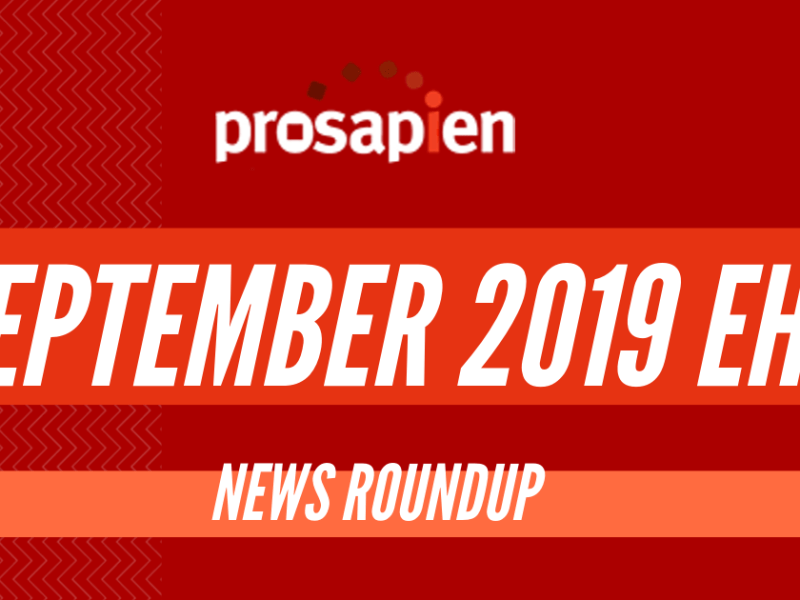 September 2019 EHS News Roundup