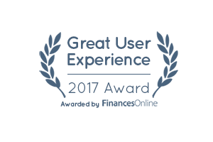 Great User Experience 2017 Award - FinancesOnline