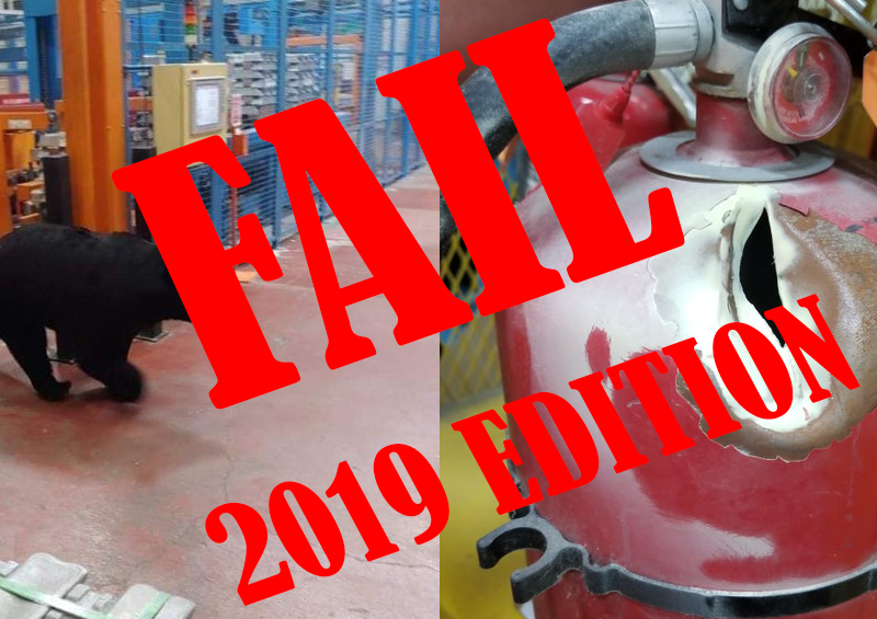 Top OSHA Fails 2019 From the Reddit Safety Community