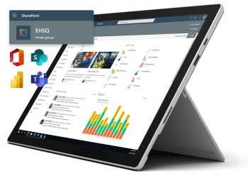 Pro-Sapien's EHS Software on Office 365 integrates with SharePoint, Teams, Power BI and more