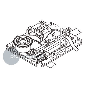 Pioneer CDJ 400 Optical Pickup Assy, Pro Technical Sound