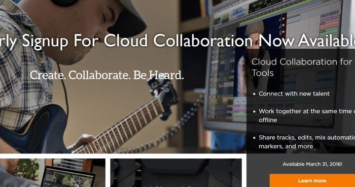Avid Cloud Collaboration Signup
