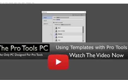 Creating And Using Templates in Pro Tools