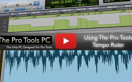 Using The Pro Tools Tempo Ruler
