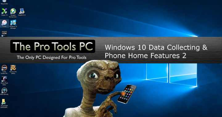 Windows 10 telemetry and data collecting