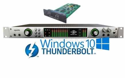 UAD Thunderbolt Windows