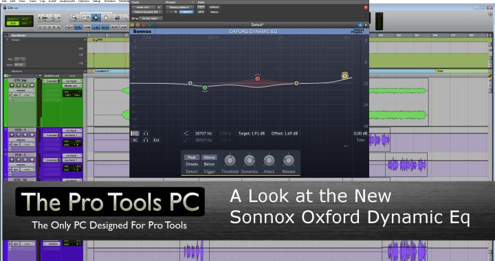 A Look at the New Sonnox Oxford Dynamic Eq