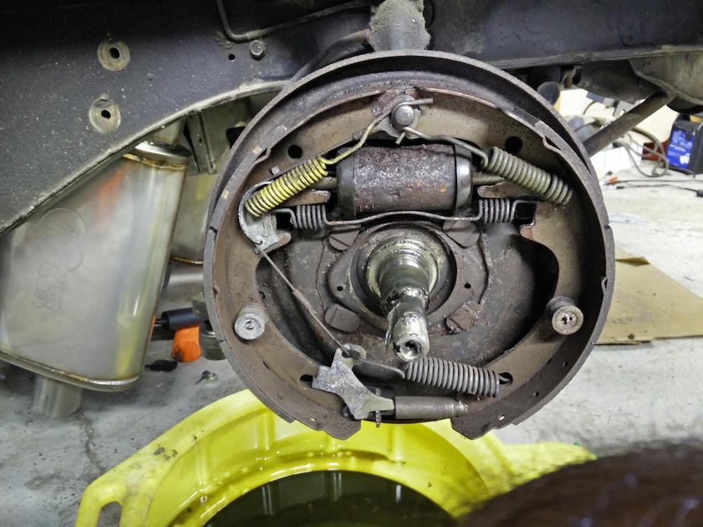 Wiring Diagram Mustang Rear Drum Brake Diagram Nissan Wiring Diagrams