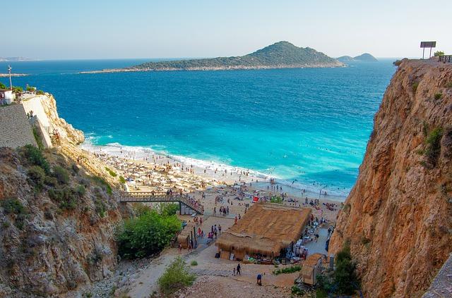 Пляжные курорты Турции на Средиземном, Эгейском и Мраморном море