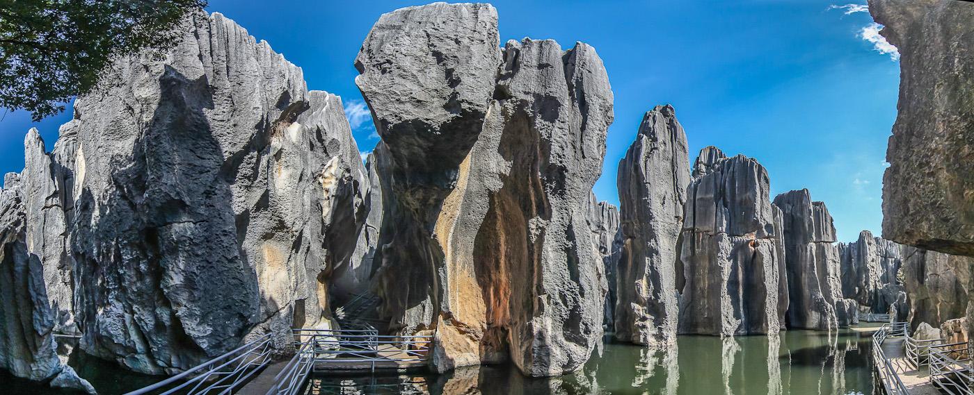 Каменный лес Шилинь — шедевральное творение воды и ветра