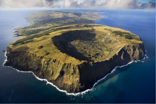 Остров Пасхи Рано-Кау