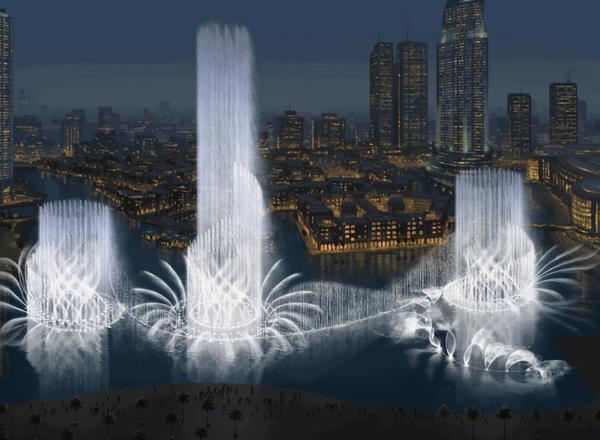 Светомузыкальный, поющий, танцующий! Фонтан в Дубае: расписание, фото, карта