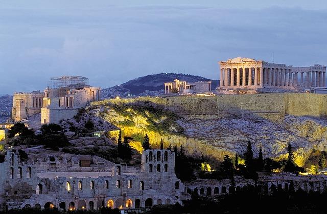 Афинский Акрополь: интересные факты, храмы, музей