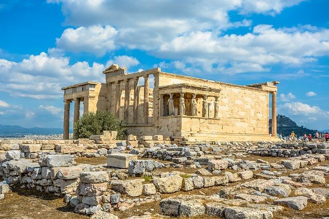 Афинский Акрополь Эрехтейон