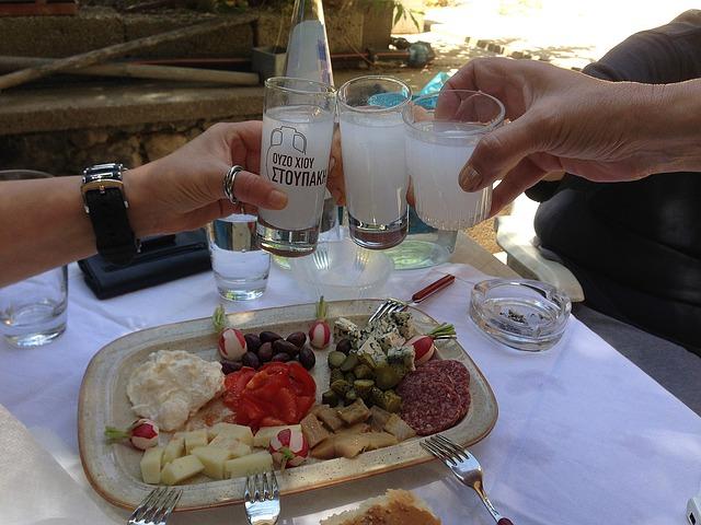 что пьют греки