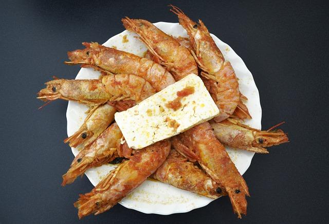 Кухня Греции морепродукты