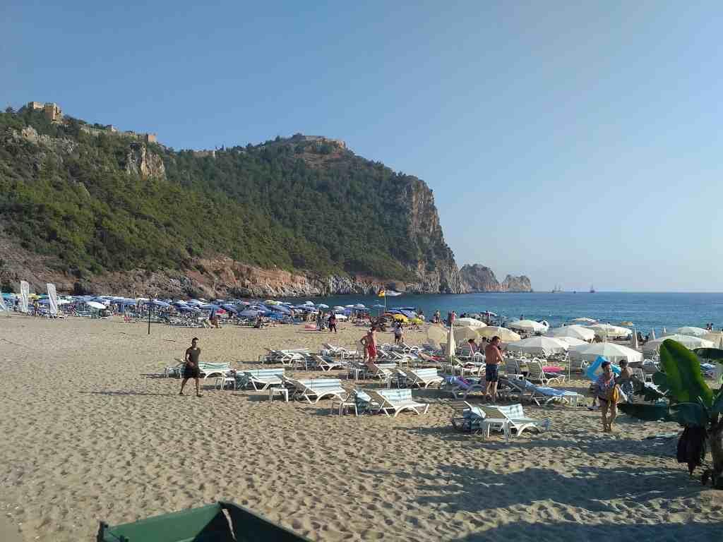 пляж клеопатры алания