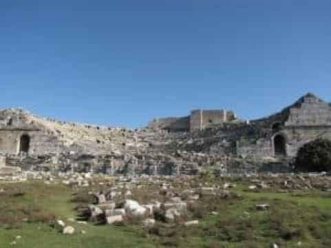 Амфитеатр в Милете Дидим