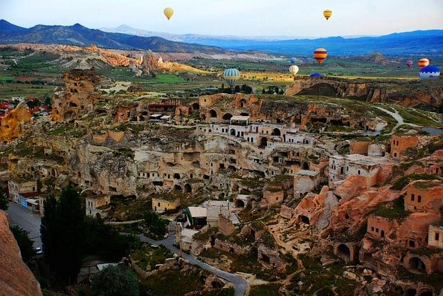 Каппадокия (Турция): история образования, монастыри, фото, карта, цена, как добраться
