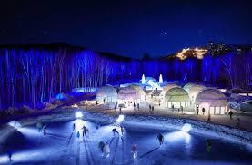 Ледяной город в Японии ждет посетителей
