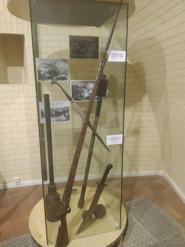 киевская крепость музей оружие