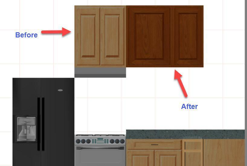 kitchen software bridge faucets refacers cabinet refacing