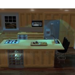 Kitchen Cabinet Software Sink 33x22 Design