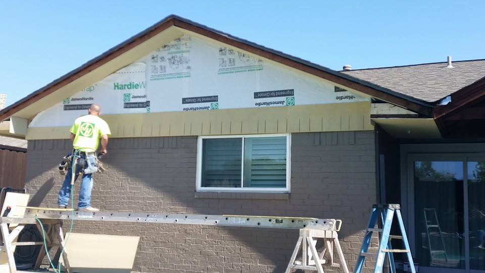 new energy effcient  siding installations