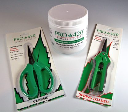 PRO 420 Scissors and Cleaning Solution