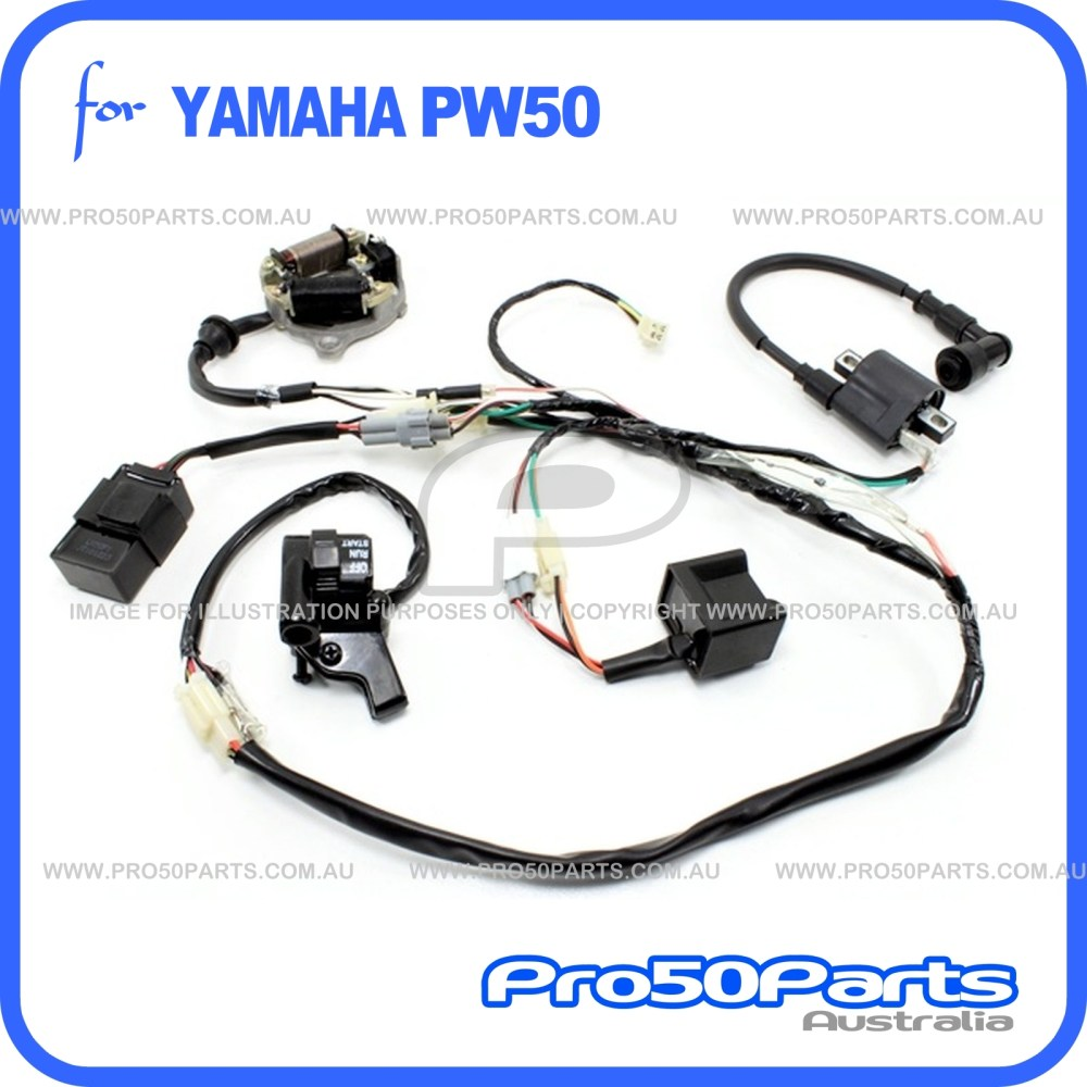 medium resolution of yamaha pw50 ignition coil wiring wiring diagrams bib yamaha pw50 ignition coil wiring