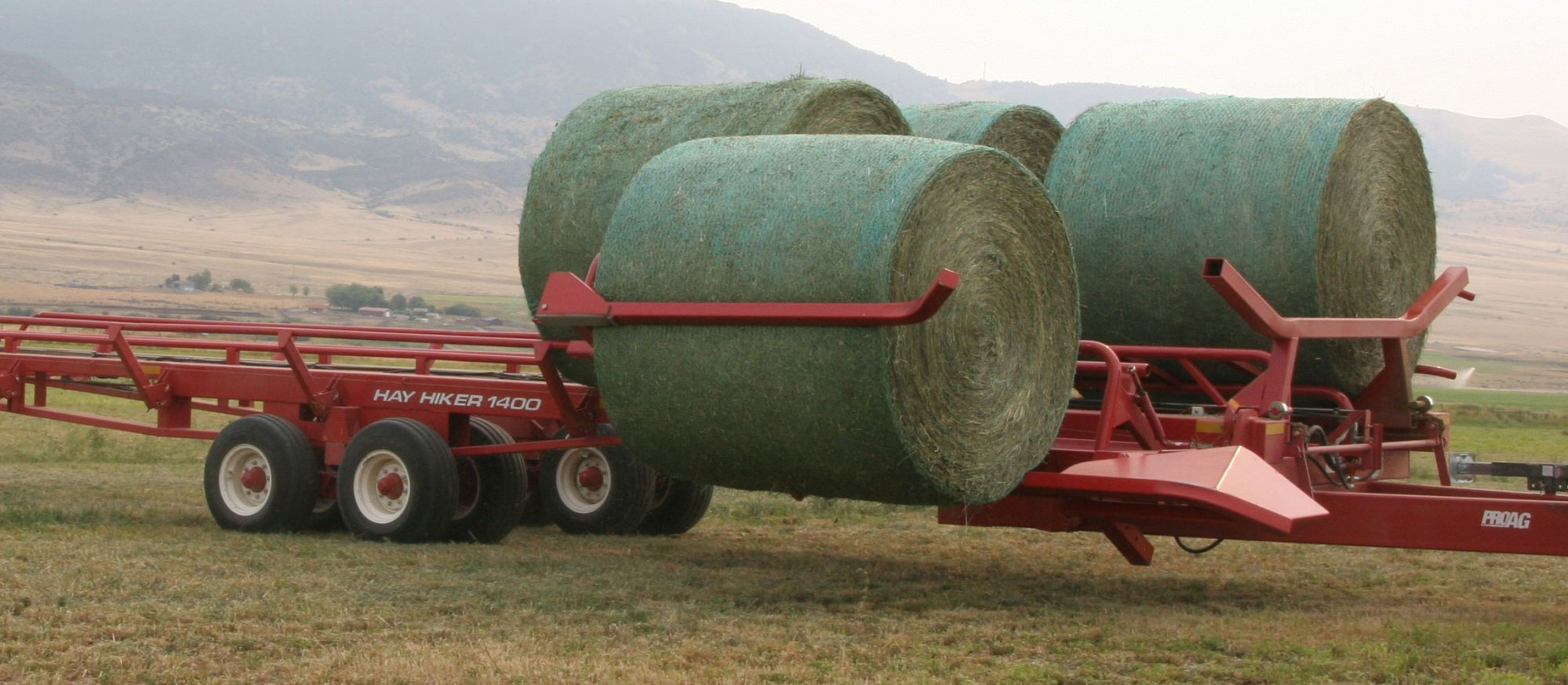 hight resolution of rotate bales