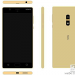 Nokia-D1C-in-Gold-with-a-fingerprint-scanner-on-the-back