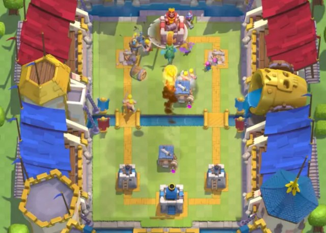 Bruja nocturna a Clash Royale