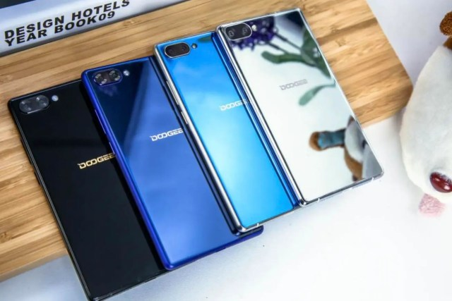 doogee mix colores trasera