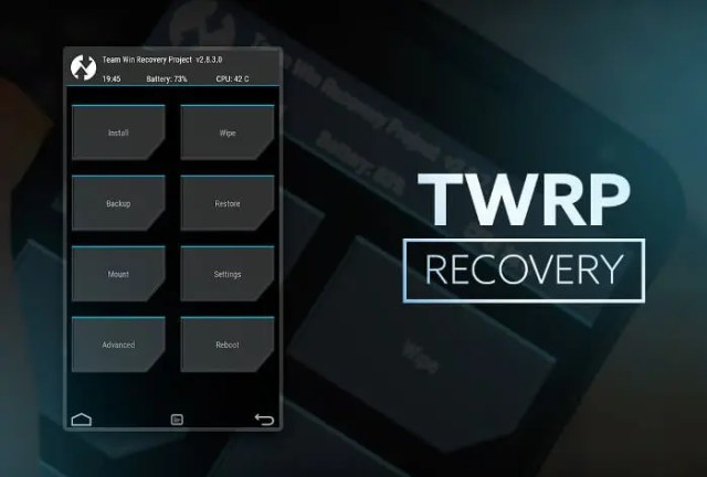 TWRP captura