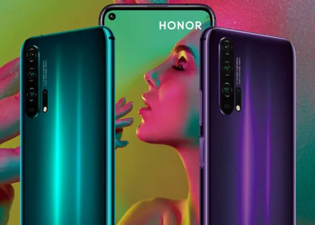 Honor 20 Pro oficial