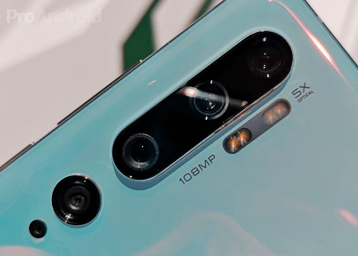 Fotocamera Xiaomi Mi Note 10