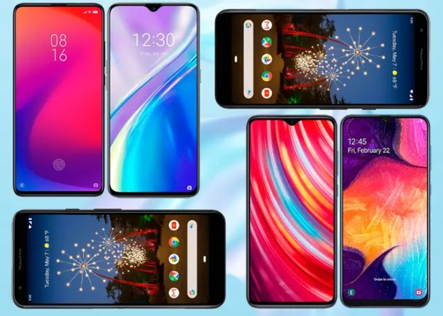 mejores smartphones de gama media de 2019