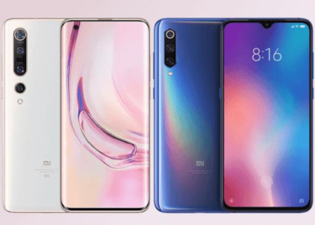 Xiaomi Mi 10 vs Xiaomi℗ Mi 9