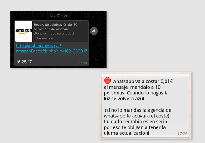 Do you send these messages on WhatsApp? Be very careful with your account