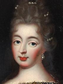 Presumed Portrait Of Mademoiselle De Fontange Oil