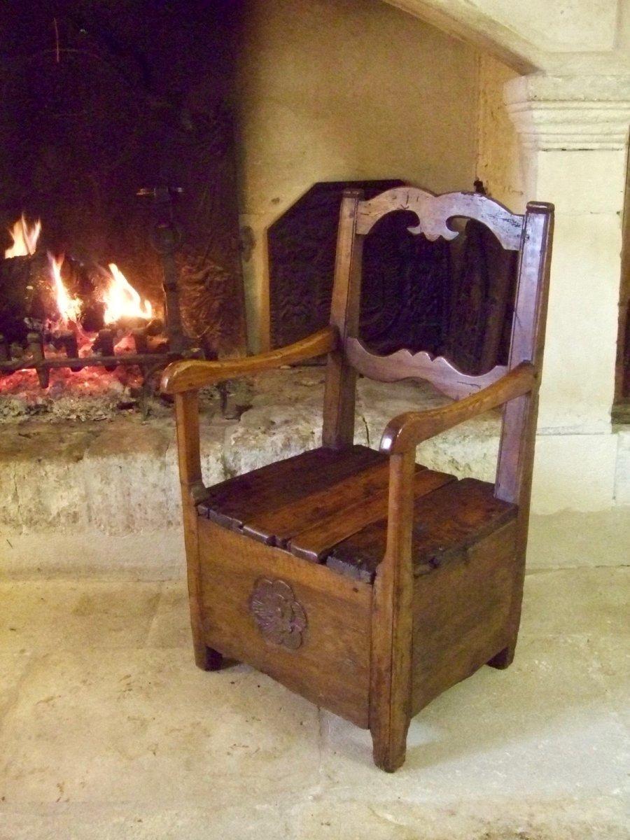 chaise a sel auvergne xviiie fauteuils