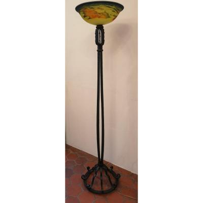 lampadaire ancien sur proantic art deco