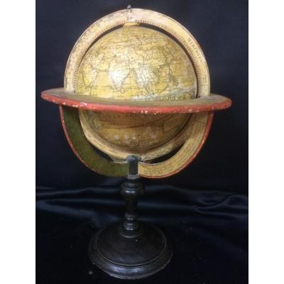 globe terrestre delamarche vaugondy