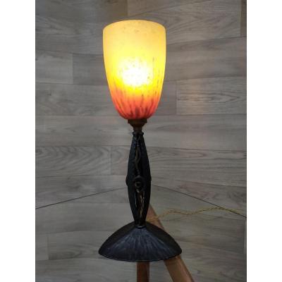 lampe de bureau on proantic art deco