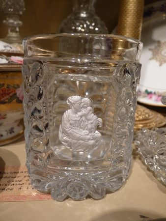 Gobelet Baccarat Orné d'Un Cristallo-cérame