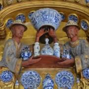 Le cabinet des porcelaines du château de Charlottenburg